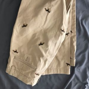 Men's Ralph Lauren pants with dogs